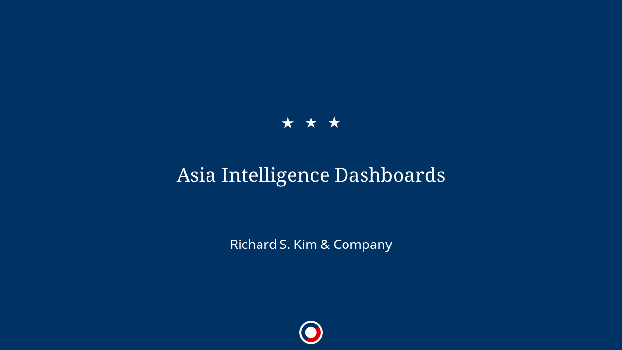 Asia Intelligence Dashboards