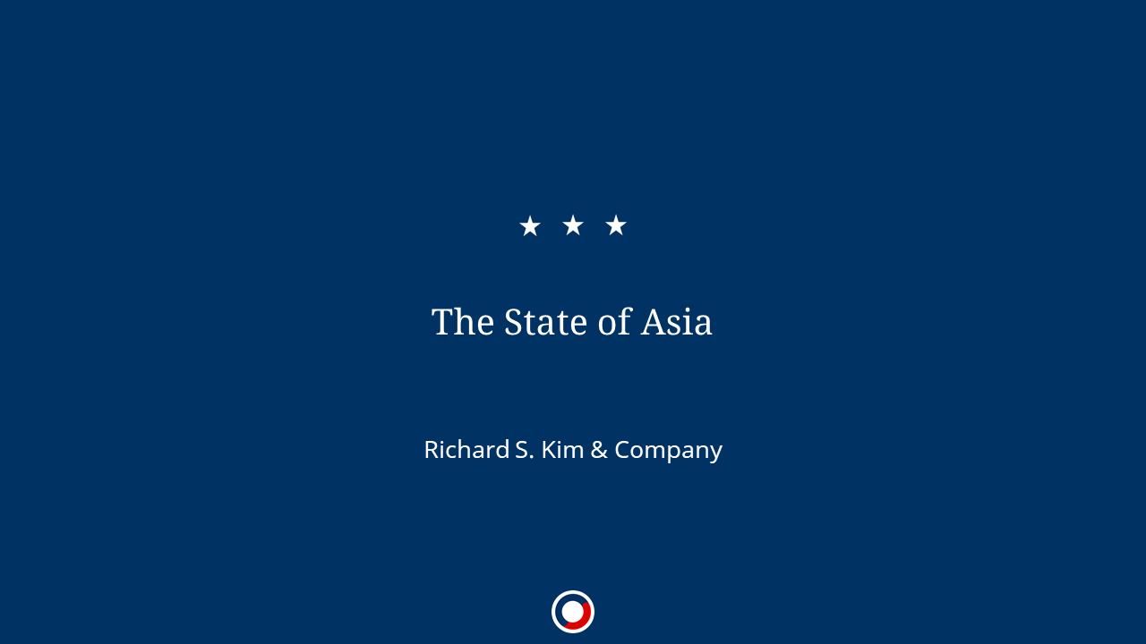 The State of Asia – 2